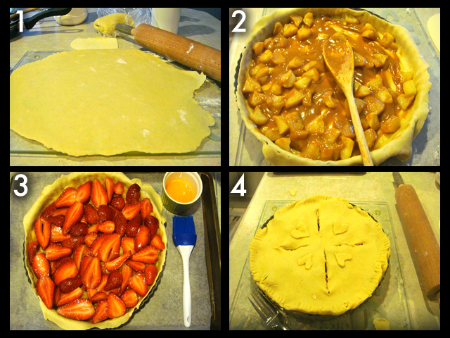 Pie layers!