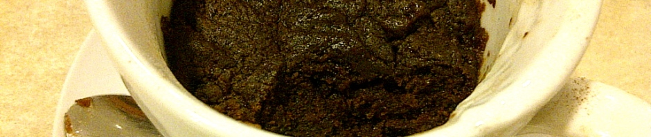 One-serve spicy chocolate brownie