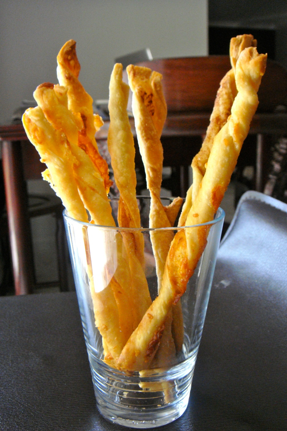 Homemade Cinnamon Twists & Cheese Straws