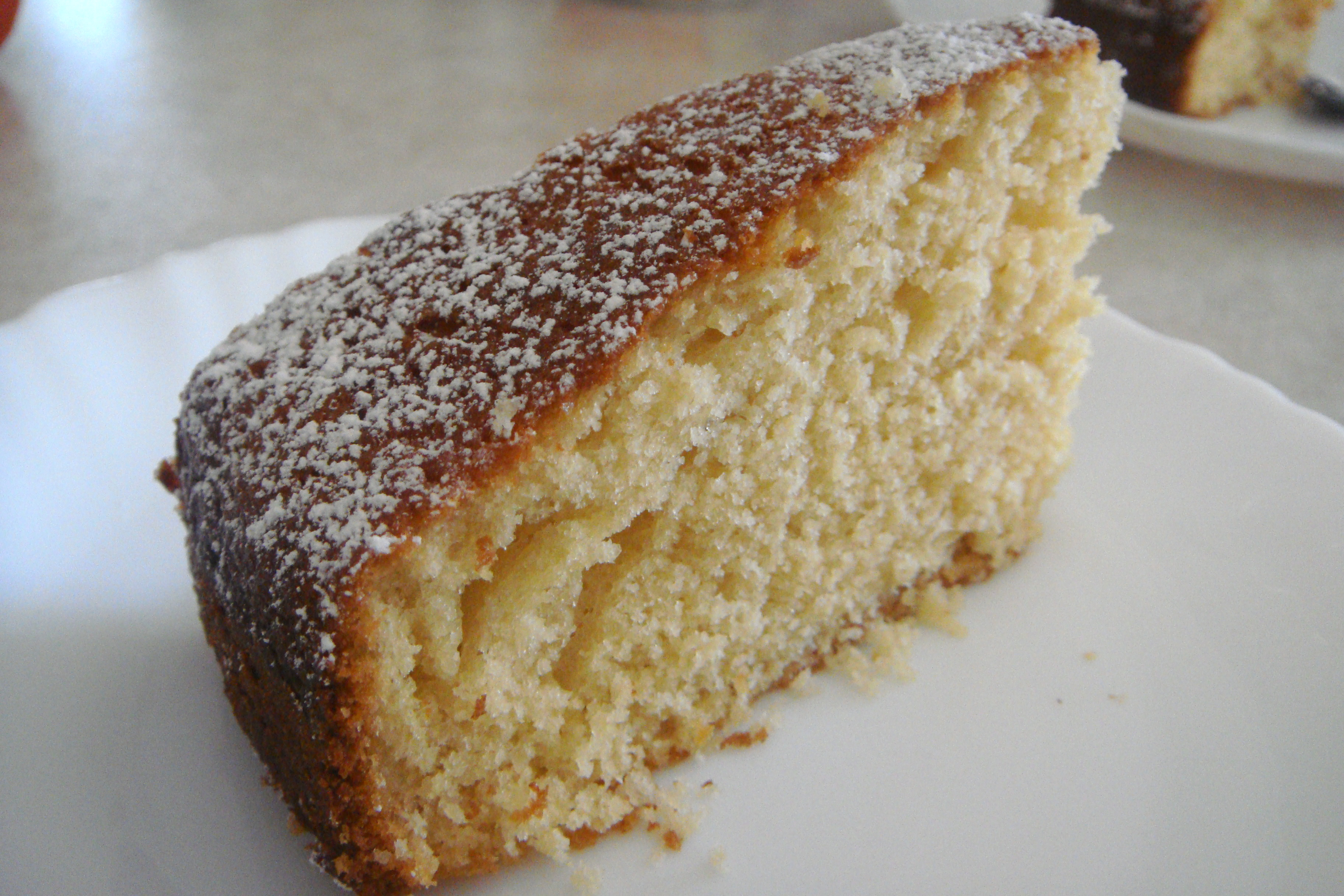 Simple Rich Butter Cake Recipe