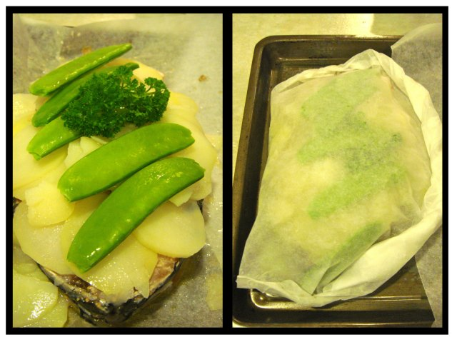 Poisson en Papillote - wrapped up