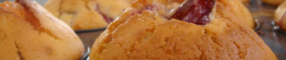 Strawberry Marshmallow Muffins