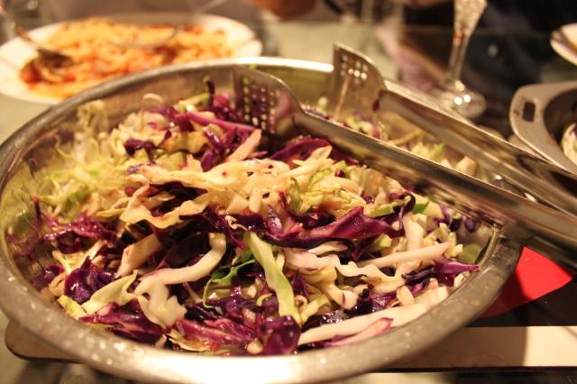 Warm Mixed Cabbage Salad