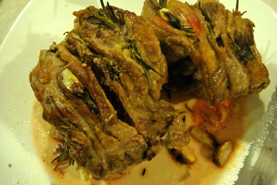 The Basic Boneless Roast Lamb with Garlic & Rosemary