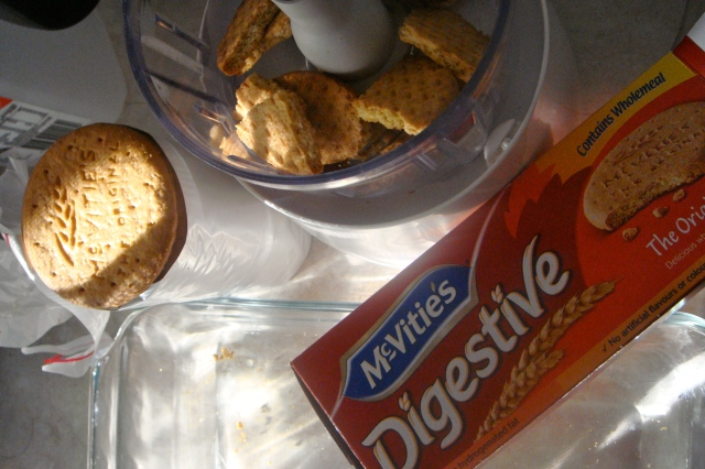McVitie's Digestive biscuit base